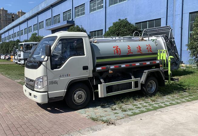 江铃小型绿化喷洒车