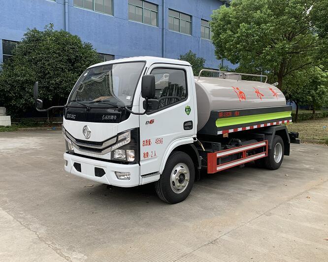东风洒水车5吨国六(蓝牌)
